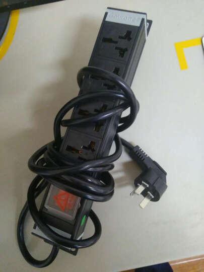 Gowone 购旺PDU机柜插座 工业插排 万用孔接线板 定制电源拖线板 大功率供电底座 4位16A10A双用孔 国标10A插头  WD5 3米线 晒单图