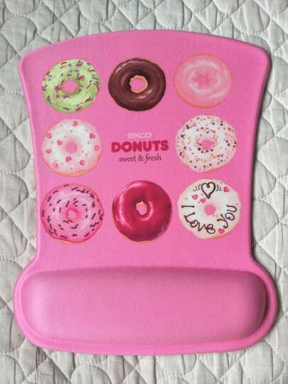 宜适酷(EXCO)甜甜圈记忆棉鼠标垫 护腕大号 加厚 可爱卡通动漫游戏垫 京东自营 MSP011 晒单图