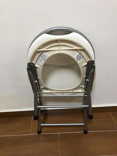 海山 靠背折叠坐便椅老人孕妇坐便器坐厕椅OD2B 晒单图