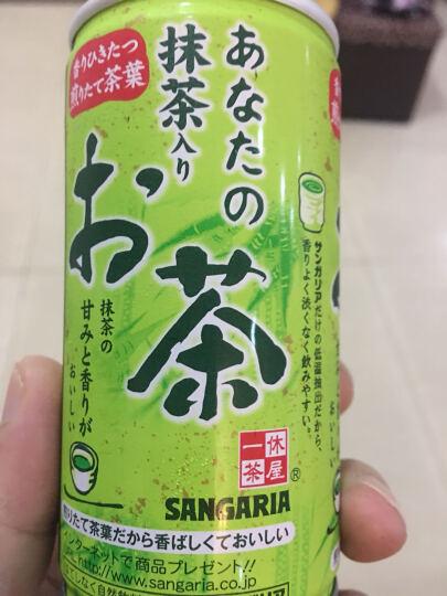 日本进口零食品 三佳利 抹茶饮料 190g 特色茶饮品 晒单图