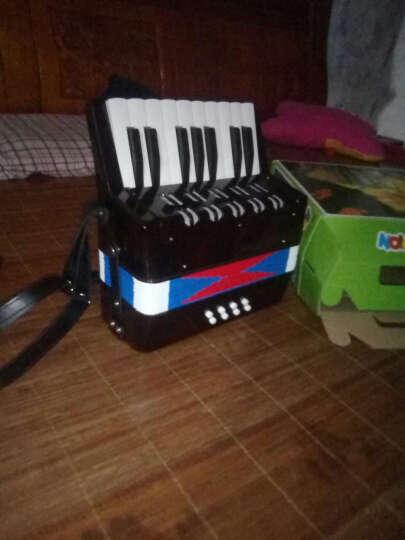 贝贝乐(Beibeile) 儿童手风琴 8贝司17键大号手风琴乐器玩具入门练习手风琴小学初学教学 迷彩8贝司17键儿童手风琴 晒单图