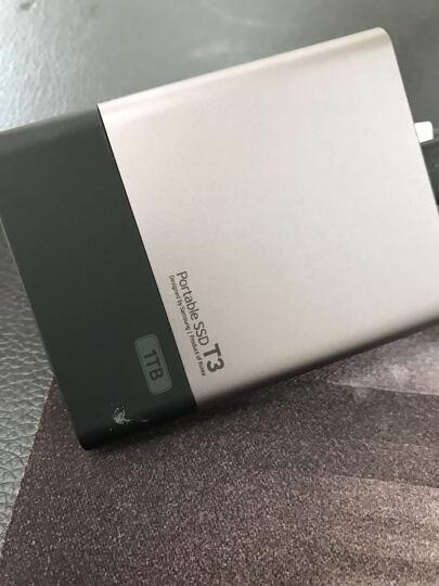 三星(SAMSUNG) T3系列 1TB 移动硬盘 固态(MU-PT1T0B/CN) 晒单图