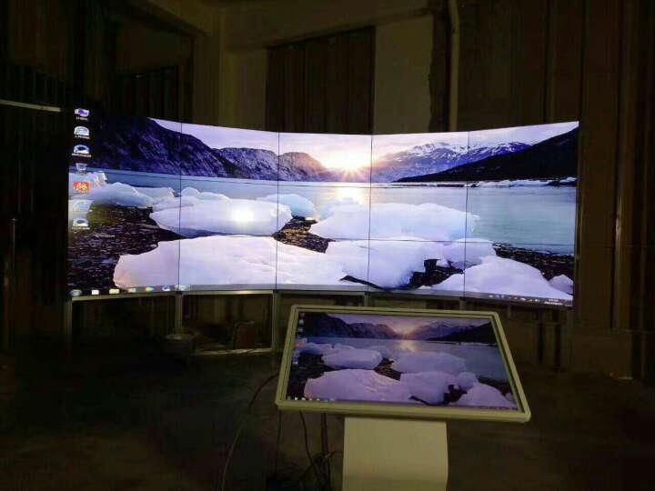 康普瑞液晶拼接屏会议演示拼接电视墙安防监控液晶电视墙3.5mm窄边拼接显示器商用拼接大屏 40英寸16mm拼缝 晒单图