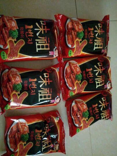 韩国进口零食 Jiur九日牌甜辣炒年糕6袋  辣味打糕条 韩式膨化炒糕饼干 重辣炒年糕条100g*6袋 晒单图