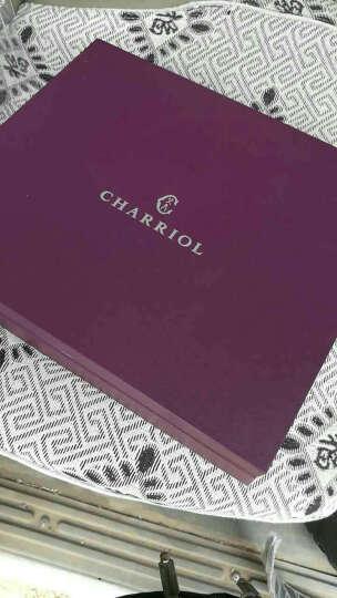 夏利豪 CHARRIOL商务时尚男士皮带礼盒牛皮横款钱包自动扣皮带两件套礼盒 CF888-6200 晒单图
