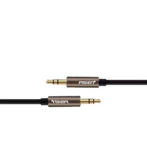 品胜3.5mm双头耳机线 aux车用音响音频线公对公连接线1.5米音源线 黑色升级版 晒单图