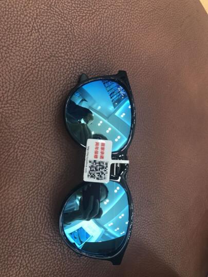 RayBan雷朋太阳镜2017新款 女非偏光复古墨镜超轻眼镜男士圆框开车偏光镜 雷朋眼镜 杨幂同款RB4171F 601/5A 54mm 晒单图