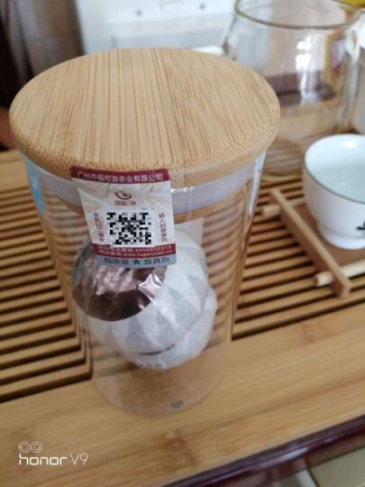 【东莞馆】福柑源 陈皮普洱茶 柑普熟茶 天马雅350g纸袋装 晒单图