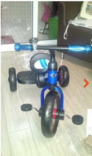 星辉(Rastar) 儿童礼物宝马MINI儿童脚踏车三轮车儿童三轮车宝宝车 蓝色 晒单图