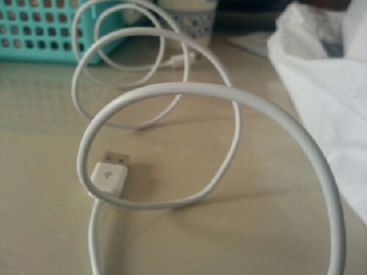 摩奇思(mokis) Micro USB 安卓接口手机数据线/充电线 1米 白色 适用于三星/华为/小米/魅族/HTC/索尼等 晒单图