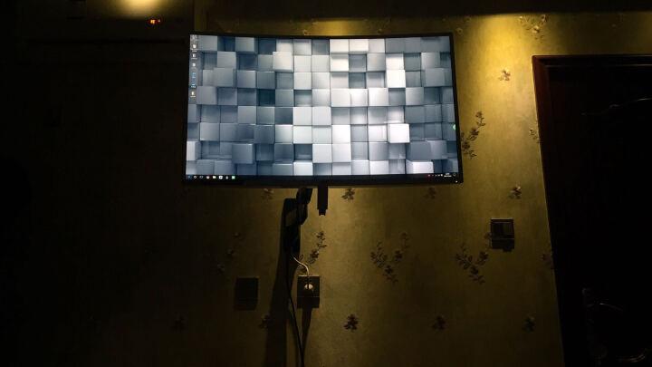 NB F450(40-50英寸)大屏商用显示器支架/液晶电视挂架支架/广告机挂架触控电视架 晒单图