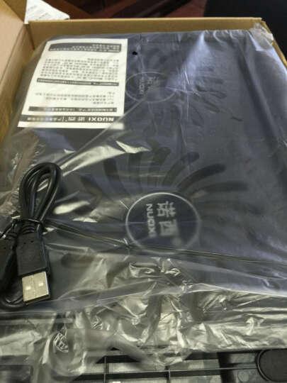 诺西(NUOXI)S200C 笔记本散热器 (笔记本支架/散热垫/电脑配件/2风扇/静音散热架/黑色/15.6英寸) 晒单图