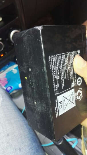 蓄电瓶UP-RW1245松下铅酸正品 UP高功率系列 太阳能 UPS 电梯应急电源用 黑色 有 晒单图