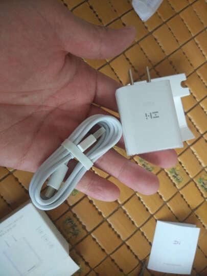 毕亚兹 苹果充电器套装 1A手机充电插头+锌合金苹果数据线1.2米 支持iPhoneXs Max/XR/6s/7/8 Plus 1A白+K8黑 晒单图