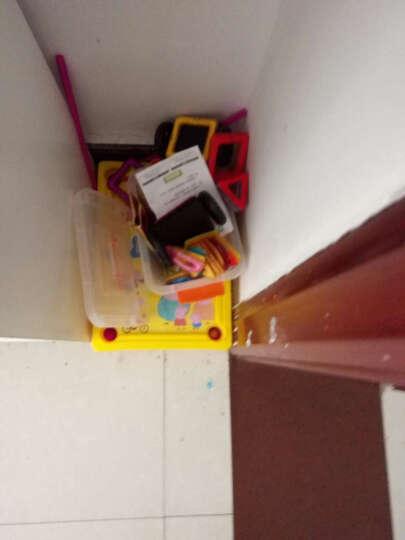 磁力片儿童力玩具积木动脑2-3-6岁男孩女孩磁吸力玩具 拼装 礼套装102件套(42磁力片+摩天轮+车轮+4D造 晒单图