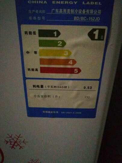 志高 CHIGO 小冰柜 家用 冷藏冷冻 卧式冷柜  冰吧 冰箱 特价 白色132升BD/BC-132 晒单图