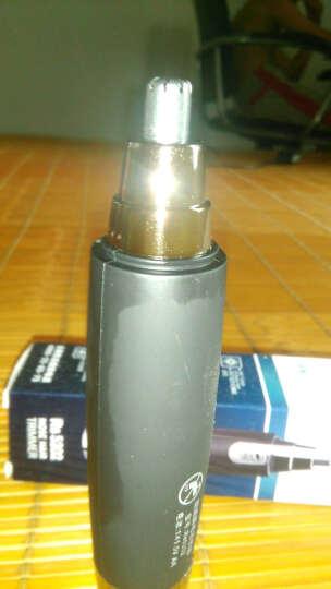 朗威(RUNWE)Rs5202电动鼻毛器修剪器须鼻毛器剃毛器干电池式磨砂黑修剪鼻毛耳毛器 晒单图