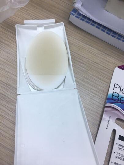 ELEFT 啫喱后跟贴 防磨脚帖 不跟脚鞋跟贴 透明半码垫 (一对) 晒单图