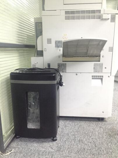 范罗士(Fellowes) 450M碎纸机 可碎信用卡光盘 保密静音商用办公家用 5级保密 晒单图