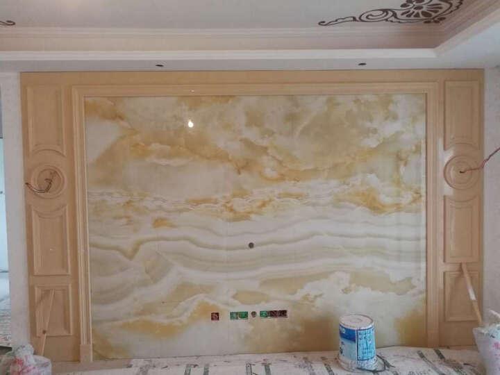 唐梦(TOMMONG) 瓷砖背景墙 欧式客厅 地砖地板砖 微晶石3d电视背景墙砖 云中歌 高温微晶/0.1平方米 晒单图