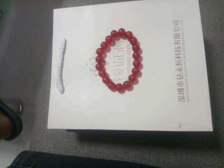 我爱钻石网 钻戒白18K金钻石戒指情侣铂金对戒男女戒指求婚结婚订婚戒指/旋律 对戒 晒单图