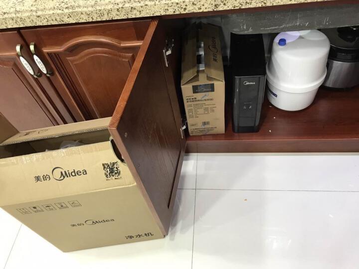 美的(Midea)家用净水器 净水机 75加仑大通量3年长寿滤芯 1:1低废水灯环龙头(C5)MRC1686-75G 晒单图