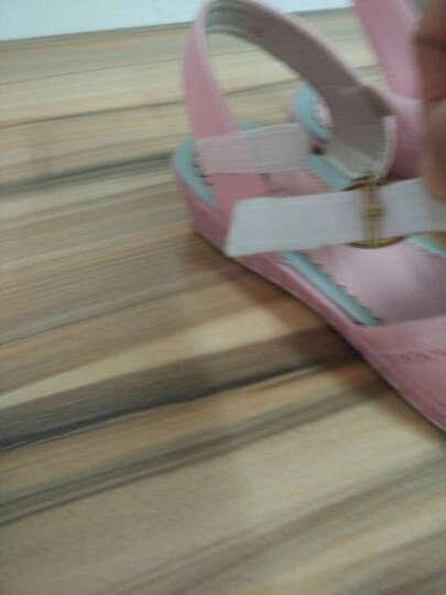 回力童鞋儿童凉鞋女童夏季新款时尚韩版公主鞋防滑沙滩鞋 女凉h16107-26107粉色 34/实测内长21.5cm 晒单图