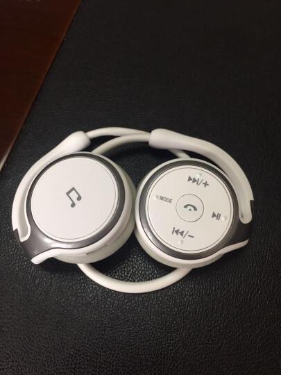 率先SUICEN 蓝牙耳机立体声头戴式4.0运动型通用手机无线音乐耳机AX698 土豪金 4GT卡+读卡器 晒单图