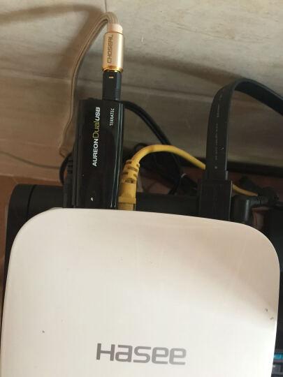德国坦克(TerraTec)Aureon Dual USB声卡 免驱动立体声输出麦克风输入 音乐视频游戏均可2.0声道 晒单图