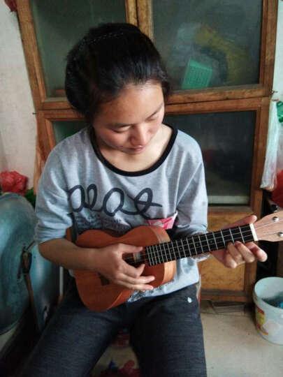 彩虹人(anuenue) 尤克里里ukulele乌克丽丽初学者成人小吉他 21英寸 TM1面单(电箱) 晒单图