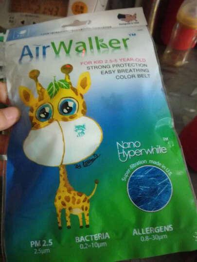 鲜行者 Airwalker 美国进口滤材女士防护口罩 女士适用 防PM2.5防雾霾 耳带式 3只装 晒单图