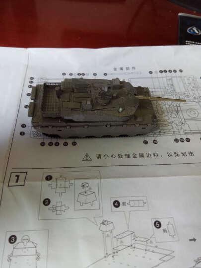 3d立体金属拼装拼图军事飞机坦克古典建筑摆件收藏品拼插模型diy成人手工玩具创意送礼佳品 新手工具套装 晒单图