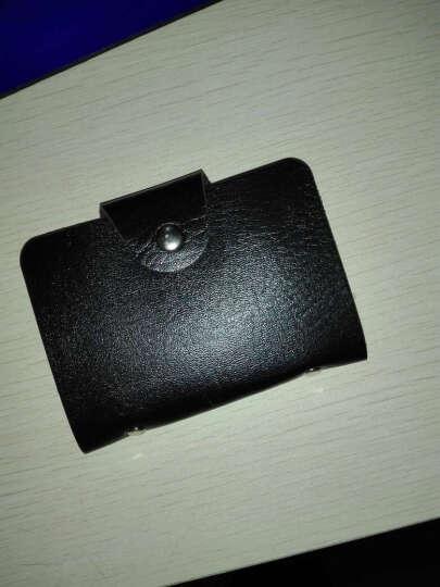 Viney钱包 女长款女士钱包新款女式卡包手拿包女油蜡真皮手包女 宝石红 晒单图