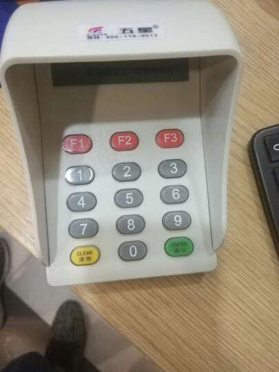 五星 密码键盘 带语音 密码小键盘 无需控制器 USB 防窥数字键盘 收银机键盘 触摸带控制密码键盘 晒单图