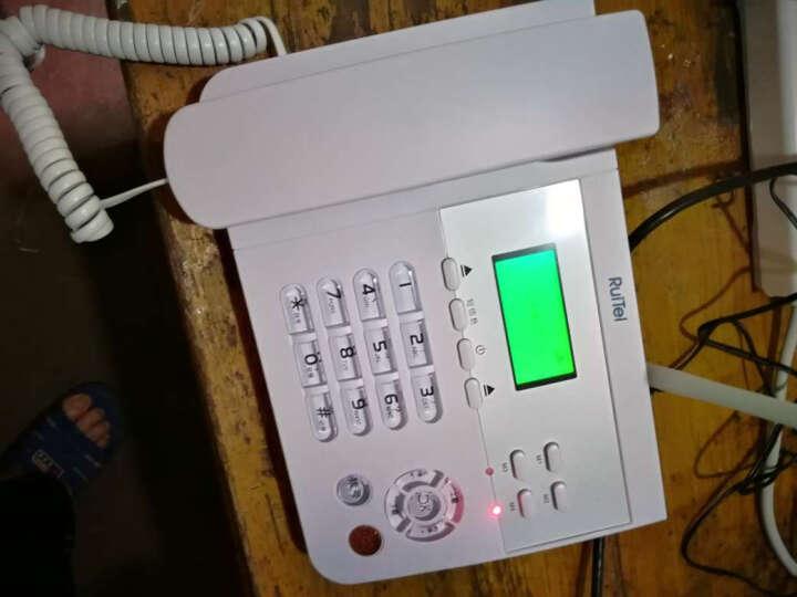 瑞恒 无绳电话机固话无线座机办公家用移动联通插卡坐机会议加密卡老人机 5110G移动手机卡版 晒单图