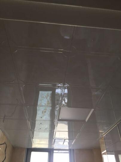 纳韦斯集成吊顶LED灯铝扣板面板灯厨卫天花灯嵌入式平板灯 斜切边12w(白)适用8㎡内 晒单图