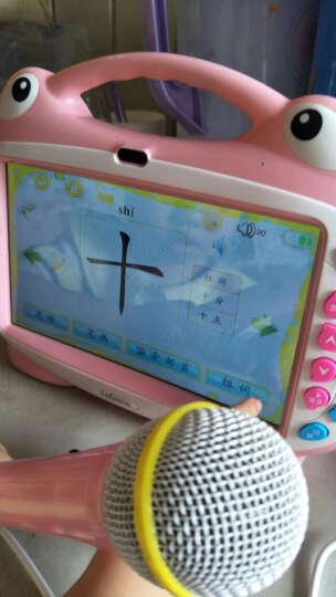 罗菲克 触屏早教机 wifi点读机学习机 宝宝婴幼儿童视频故事机 男孩女孩儿童益智玩具 粉色9英寸WiFi微信版16G【送双话筒+防摔包】 晒单图