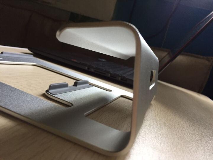 步箭(Bujian)Z1 架 铝合金笔记本散热器支架 MacBook苹果笔记本电脑支架 银色 晒单图