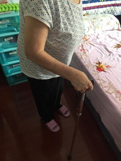 乐来福(REALLIFE)进口折叠老人拐杖 可调节伸缩手杖 老人防滑拐棍 助行器RL-D01 晒单图