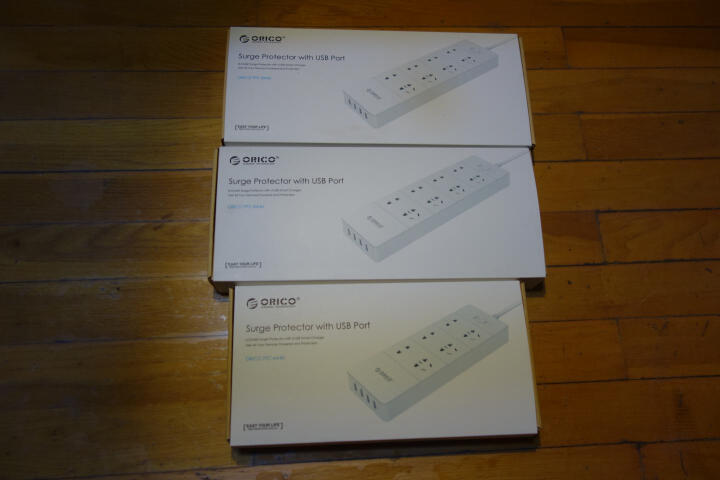 奥睿科(ORICO)DPC-3A3U 智能3口USB便捷旅行排插 3位插座/插排/插线板/接线板 1.5米线长 黑 晒单图
