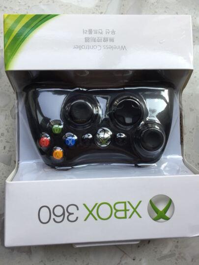 DFyou 微软Microsoft XBOX360游戏手柄支持PC电脑USB振动有线手柄 黑色 无线 晒单图