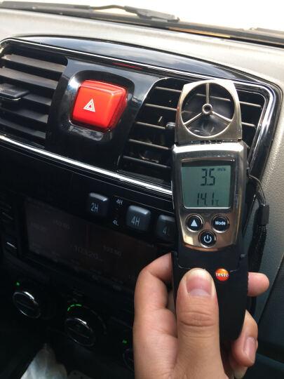 德国德图风速仪 testo410-1叶轮式风速测量仪 风速空气温度监测仪0560 4101 晒单图