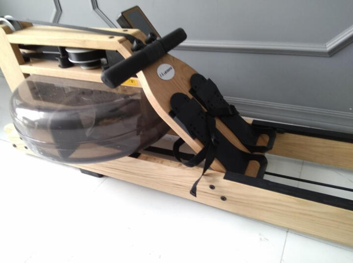 杰森 水阻划船机 纸牌屋划船器家用实木健身器材R319 晒单赠1年延保服务 晒单图