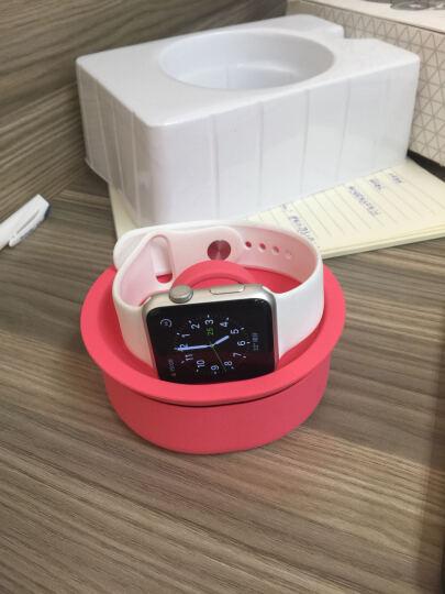 JCPAL Apple Watch充电碗支架 苹果智能手表支架 充电底座 线材整理器 粉色 Apple Watch 晒单图