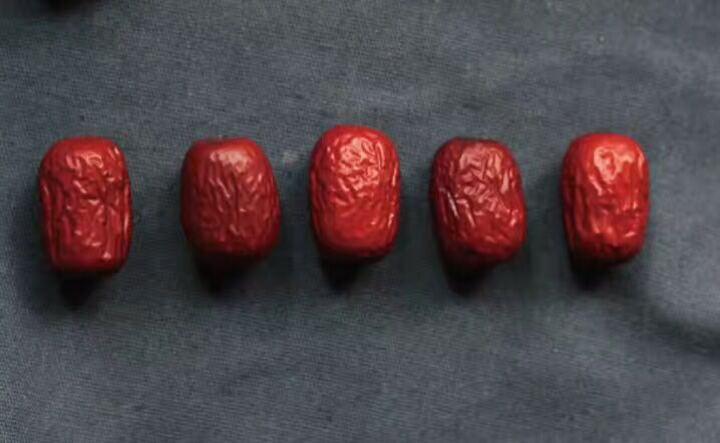 民间果农 新疆红枣 休闲 零食 大枣 灰枣散装500g(100g*5 红枣 晒单图