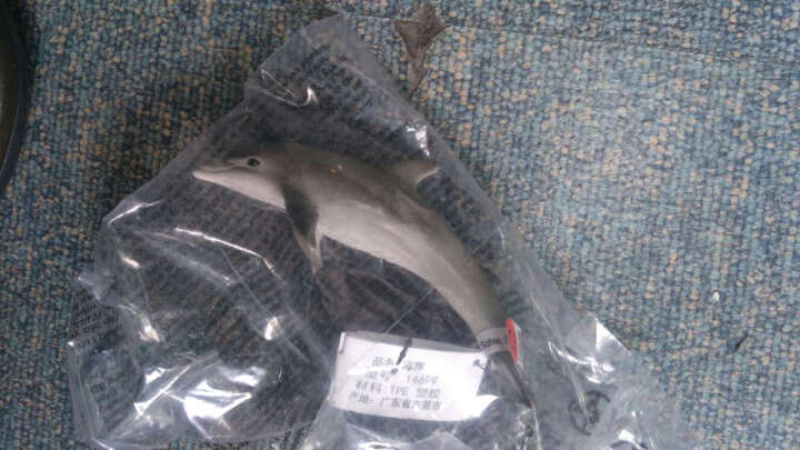 德国品牌思乐schleich海洋动物/南极/两栖动物模型塑胶玩具 14768 章鱼 晒单图