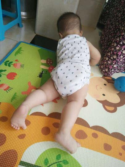 曼龙爬行垫xpe进口材质宝宝加厚爬行毯双面图案婴儿垫子 曼龙动物+曼龙乐园(认知款) 180*300*2cm(环保包边) 晒单图