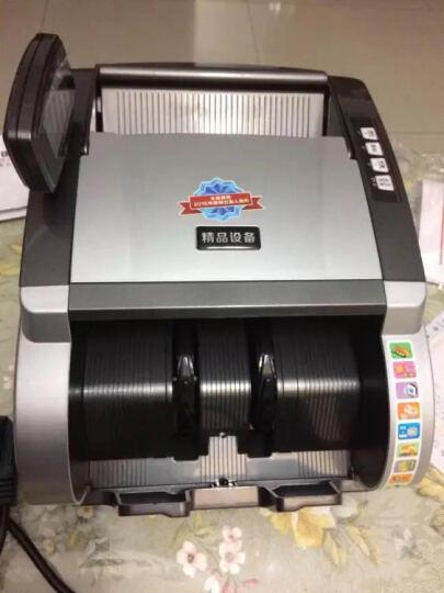 中融555(B)验钞机银行专用小型智能语音点钞机 USB升级 金银色+升级线 晒单图