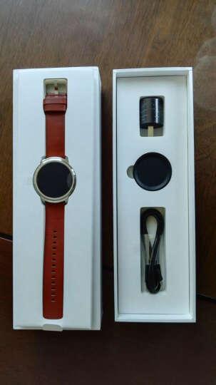 Ticwatch 2 NFC智能支付手表(棕表带) 蓝牙wifi 3G电话男女防水GPS定位记步测心率兼容苹果安卓手机 晒单图