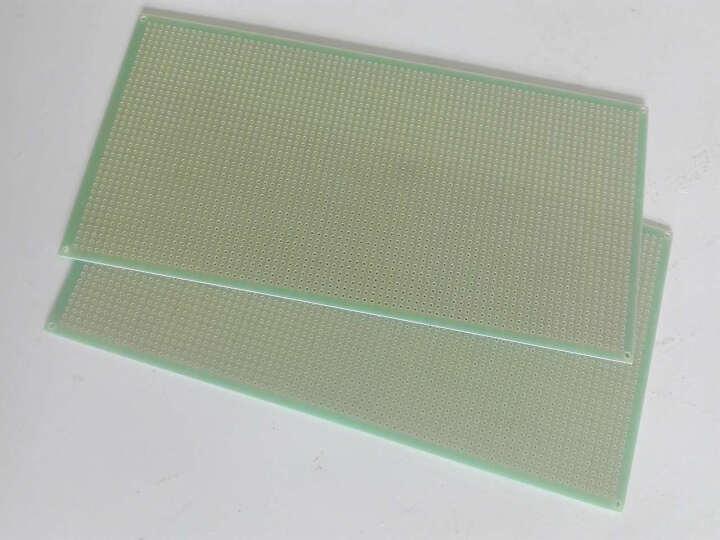 云野 开发板 单面洞洞板 实验板 线路板20CMx10CM 200MMx100MM 1块 晒单图
